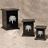 Contemporary Collection Willow Urns